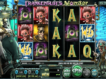 Frankenslot's Monster 4